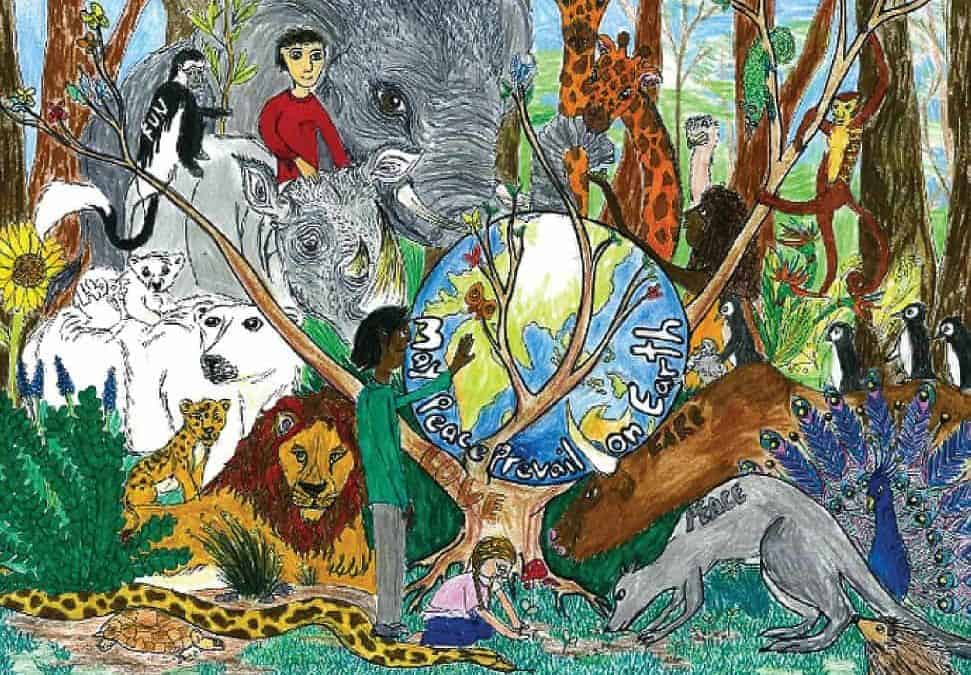 NatureForAll – Exhibiting and awarding children's artwork