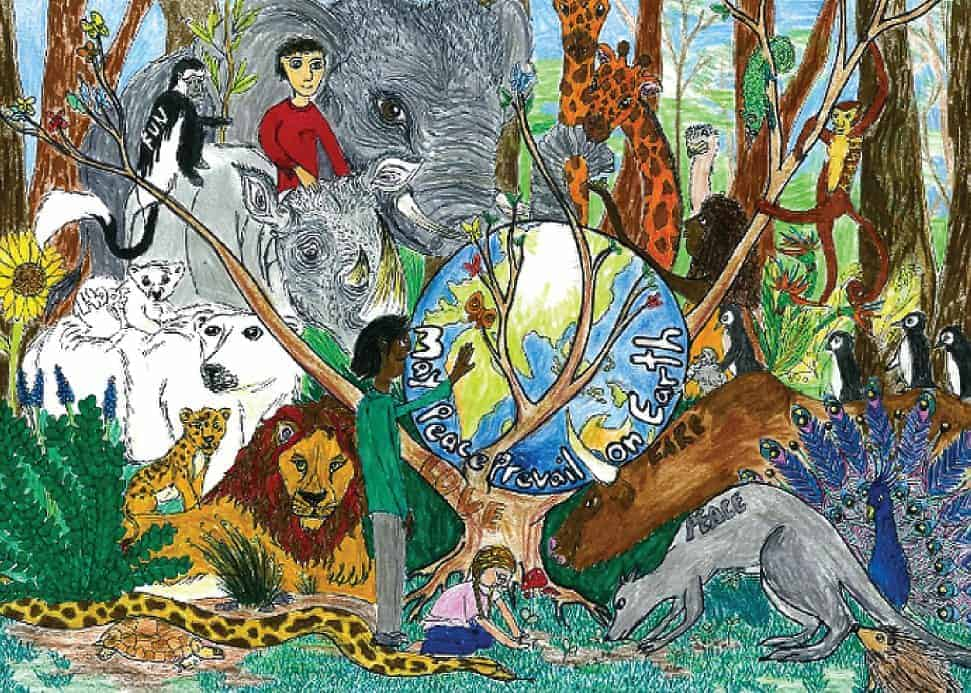 #NatureForAll– Exhibiting and awarding children's artwork